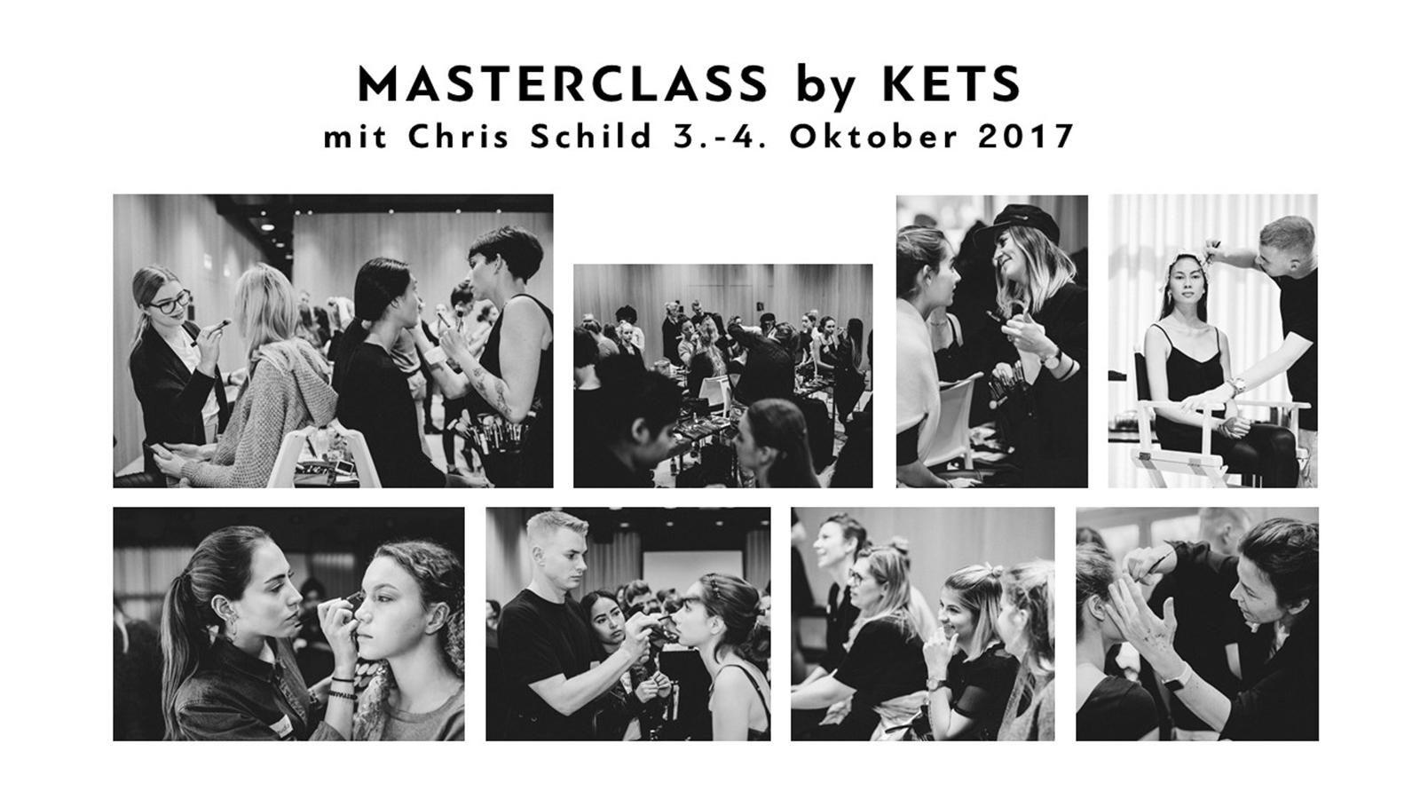 Masterclass Chris Schild by KETS Make-Up Trends FW17