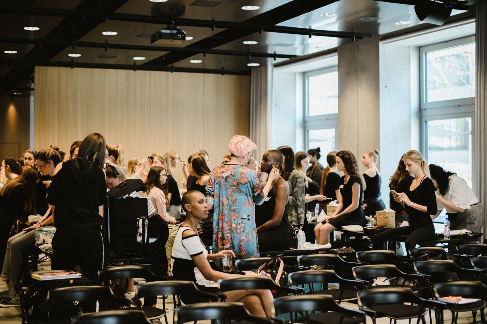Masterclass Toni Malt by KETS Make-Up Trends SS18