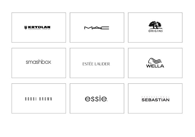 KETS Make Up Partner - MAC Cosmetics - Smashbox - Clinique - Essie - Estée Lauder - Kryolan